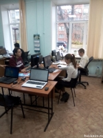 61 человек в возрасте от 10 до 74 лет приняли участие в олимпиаде «Цифровая Россия» на площадке Межпоселенческой библиотеки