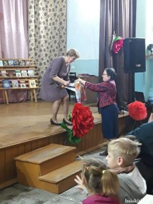 Новолоктёвская сельская библиотека отметила 65-летний юбилей