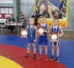Юные борцы успешно выступили на соревнованиях в Бердске