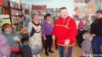 Капустная вечёрка с участием фольклорной студии «Горница» из р.п. Линево прошла в межпоселенческой библиотеке