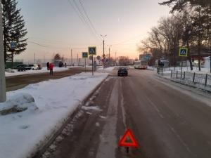 В Искитиме на пешеходном переходе автомобиль сбил ребенка