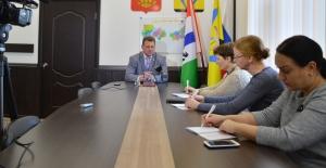 На встрече с журналистами местных СМИ Олег Лагода подвел итоги уходящего года и рассказал о планах на ближайшую перспективу