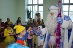 Новогодний праздник для детей из приемных семей