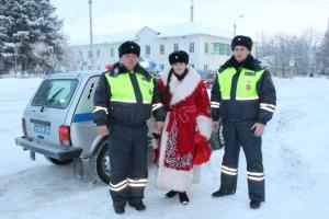 В Искитиме прошла акция «Полицейский Дед Мороз»