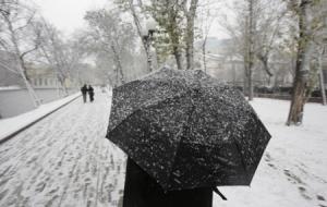 В Искитиме ожидается мокрый снег и гололедица