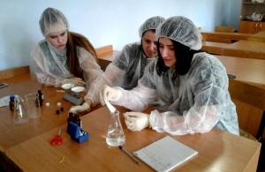 Школьная экологическая лаборатория с. Легостаево выходит на новый уровень