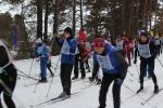 Искитимцы стартовали во Всероссийском забеге «Лыжня России»