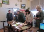 В Линёвской поселковой библиотеке торжественно открыта площадка в рамках проекта «Дорога памяти»