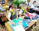 В Искитиме школьники смастерили макет светофора
