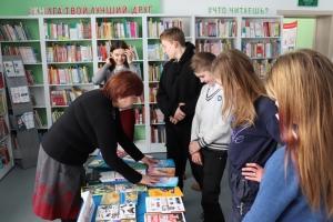 """Акция """"Мир новых книг"""" прошла для школьников в Искитиме"""