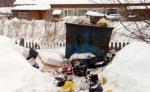 Ситуация с вывозом мусора в сёлах Искитимского района остается напряженной
