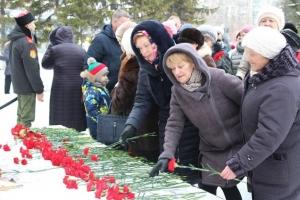 Искитимцы передали «Эстафету Победы» в Новосибирск