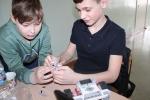Центр детского научно-технического творчества «Спутник» провел соревнования «Роболига» в направлении «Шорт-трек»