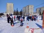Юные спортсмены из Искитима приняли участие в областных лыжных гонках