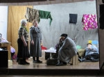 Жители села Елбаши к юбилею Победы поставили спектакль