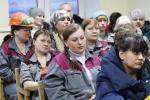 В АО «Искитимцемент» состоялись традиционные встречи руководства с трудовым коллективом
