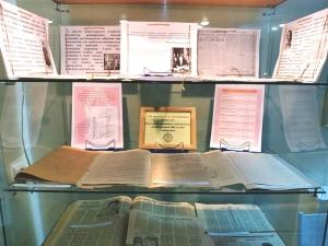 Выставка архивных документов «От документа до электронного носителя», посвященная 100-летию Сибархива