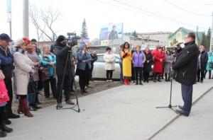 В Искитиме торжественно открыт городской рынок на территории бывшей мебельной фабрики