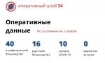 Официальные данные о ситуации с коронавирусом в Новосибирской области на 2 апреля