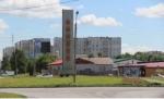 На территории р.п. Линево началось строительство временного госпиталя