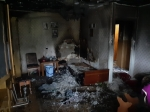 В микрорайоне Центральный горела квартира, в Легостаево - сарай
