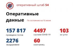 В Новосибирской области от коронавируса вылечились еще 83 пациента
