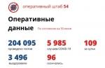 Больше 200 тысяч тестов на коронавирус сделали в Новосибирской области