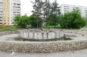 К середине июля будет сделан фонтан в сквере Юбилейный