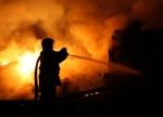Загорелась баня в садовом товариществе «Мебельщик»