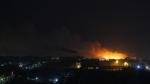 Дым от пожара на полигоне ТБО в Кировском районе распространился и до Искитима
