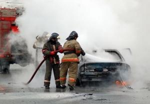 Автомобили горели в пятницу в р.п. Линево