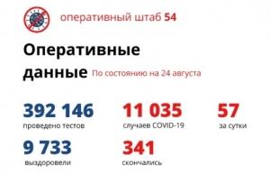 Еще 57 пациентов с COVID-19 выздоровели в Новосибирской области