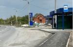В Искитиме обустроена остановка общественного транспорта «Кирзавод»