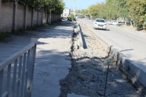 Отремонтировать тротуары в Искитиме возможно только в рамках проекта БКАД