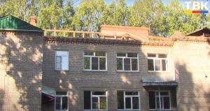 В детском саду «Теремок» п. Агролес начался капитальный ремонт крыши