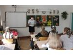 Сотрудники Искитимской Госавтоинспекции поздравили школьников с началом учебного года