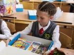 Свыше 500 детей района получили школьные наборы в подарок от компании «Сибантрацит»