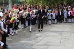 1 сентября торжественные линейки в искитимских школах прошли только для 1 и 11-ых классов