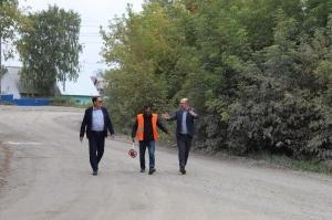 Началось строительство дороги на участке улицы Береговой между улицей Боровой и лесным массивом