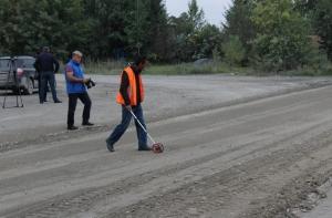На улице Береговой приступили к ремонту дороги