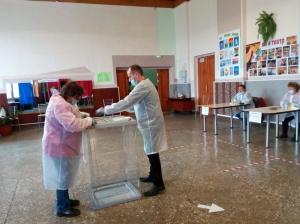 В Искитиме и Искитимском районе началось голосование по выборам депутатов Законодательного собрания Новосибирской области