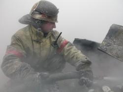 На Береговой сгорели надворные постройки