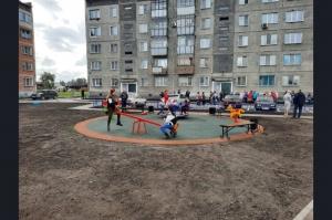 На станции Евсино открылся новый парк. Там тоже есть фонтан