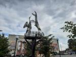Снова забили фонтаны в Искитимском районе после работ по нацпроекту