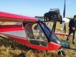 Самолет совершил аварийную посадку в поле недалеко от села Гусельниково