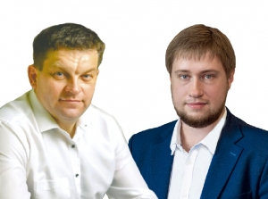 Александр Козаченко и Вадим Слободчиков от всей души благодарят своих избирателей