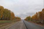 В октябре закончится ремонт дороги от Степного до деревни Бородавкино
