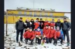 Искитимская сборная ветеранов по футболу стала чемпионом НСО