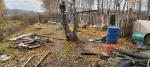 Шок: разбирая завалы от сгоревшего нежилого дома, пожарные обнаружили тела трех детей