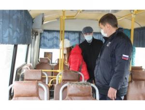 Очередной рейд по проверке масочного режима в автобусах прошел сегодня в Искитиме